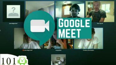 جوجل تطلق خدمة Google Meet مجانا لمنافسة تطبيق زووم