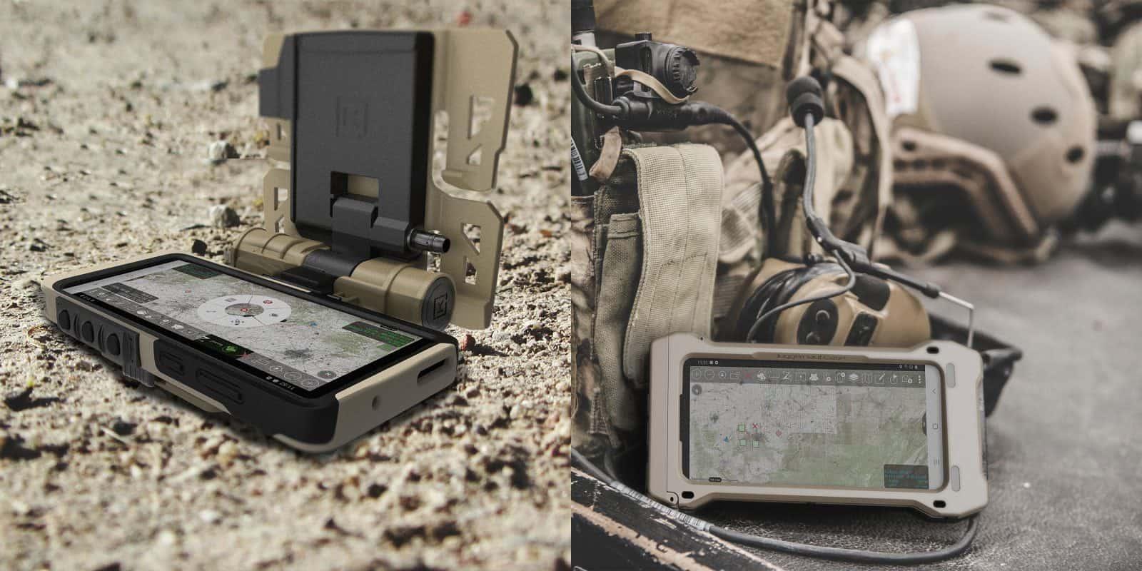 شكل هاتف سامسونج جلاكسي اس 20 نسخة الجيش الامريكي