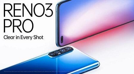 مواصفات هاتف Oppo Reno 3 الجديد من اوبو