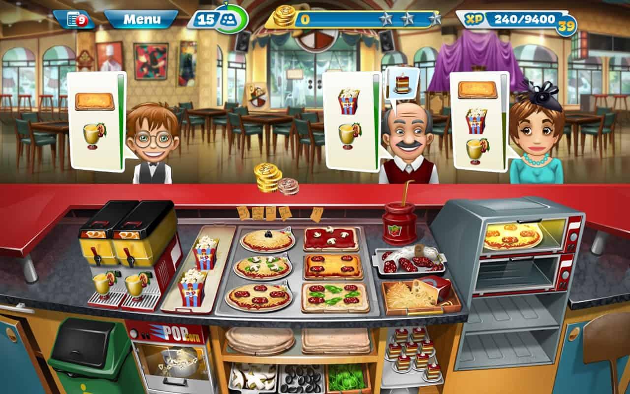 تحميل لعبة كوكينج فور ايفرCooking Fever أفضل لعبة طبخ