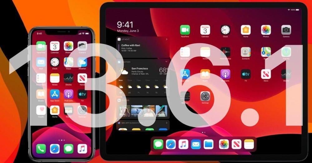 ما هي المشاكل التي اصلاحها نظام تشغيل iOS 13.6.1 و iPadOS 13.6.1