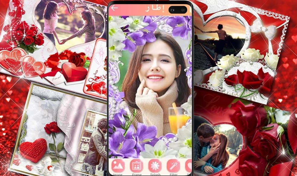 التطبيق الاول : Photo frame, Photo collage لعمل اطارات صور روعة