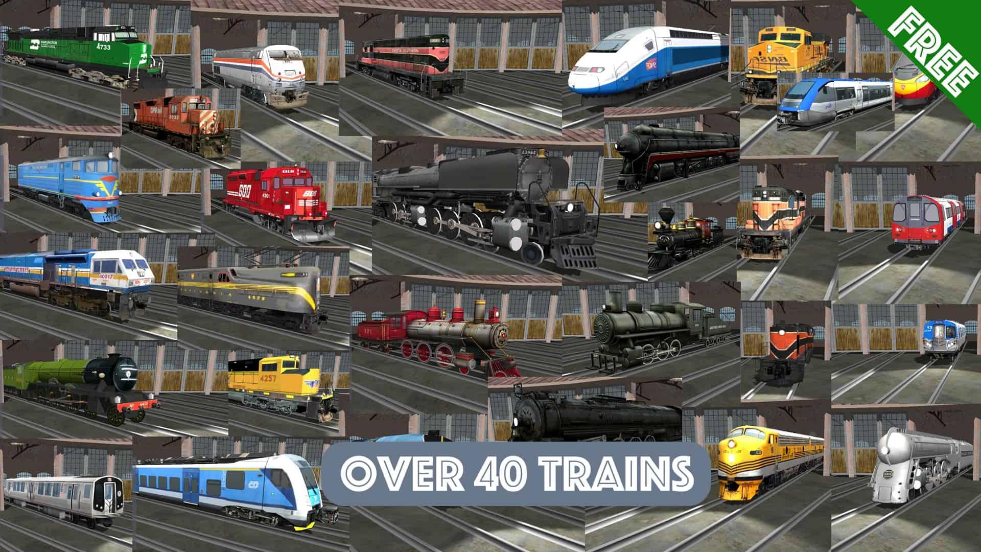 تحميل لعبة Train Sim للاندرويد أفضل لعبة محاكاة للقطارات