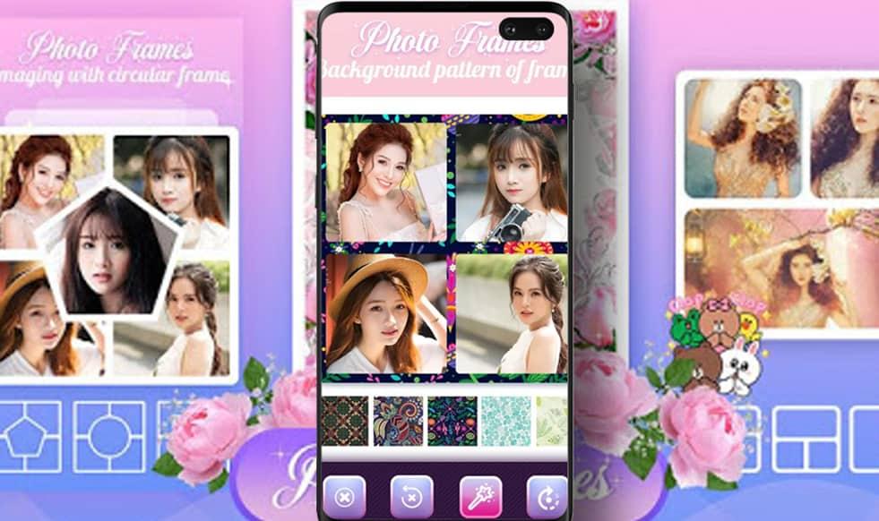 التطبيق الثاني : تطبيق إطار الصورة لانشاءبرواز للصور