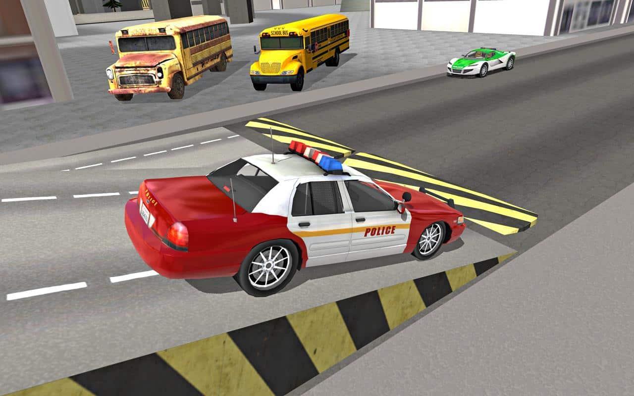 تحميل لعبة قيادة سيارة شرطة المدينة من متجر جوجل بلاي.