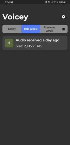 كيفية استخدام تطبيق Voicey للاستماع لرسائل واتساب