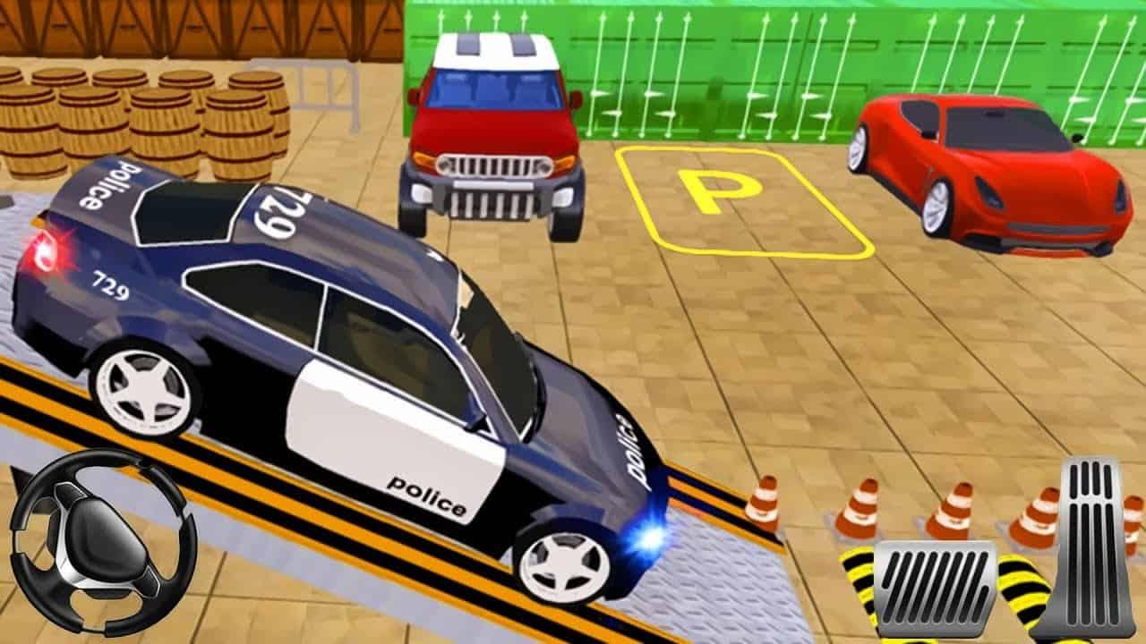 Police Parking Adventure - Car Games Rush 2019