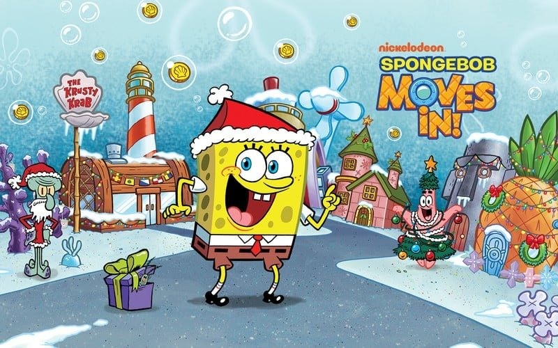 لعبة سبونج بوب SpongeBob Moves In أفضل العاب طبخ سبونج بوب