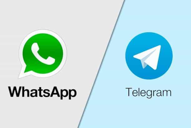 ما هو الفرق بين تطبيق تليجرام وتطبيق واتس اب.