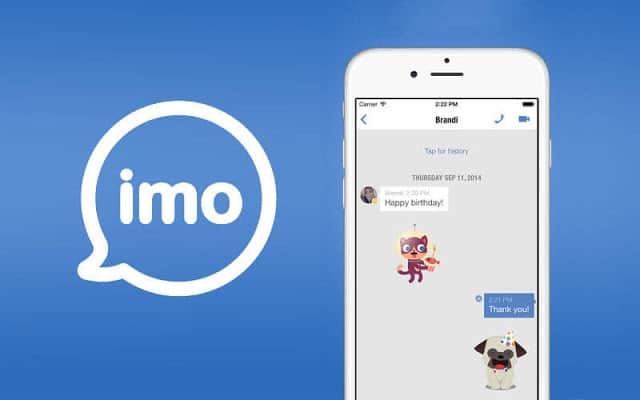 تحميل تطبيق ايمو للايفون و الايباد من متجر اب ستور.
