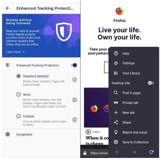تحديث وضع التصفح الخفي في فاير فوكس لمزيد من الخصوصية والامان