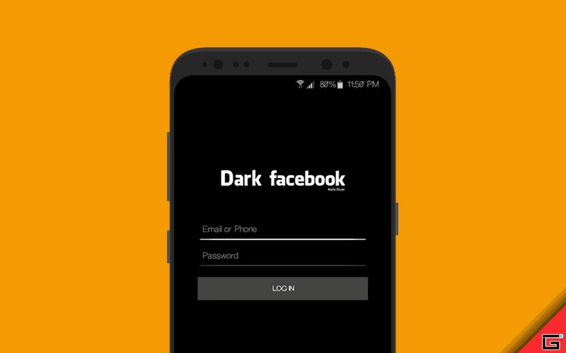 تحديث جديد لتطبيق فيس بوك لتفعيل ميزة الوضع المظلم