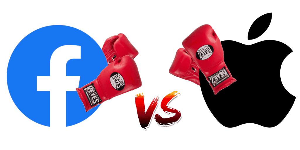 ما سبب الخلاف بين فيسبوك وابل حول تحديث iOS 14.4