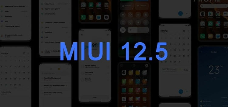 قائمة الهواتف التي ستحصل علي تحديث MIUI 12.5