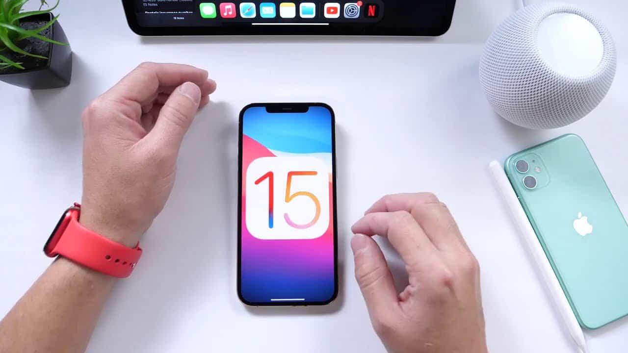 موعد إطلاق تحديث IOS 15 للهواتف